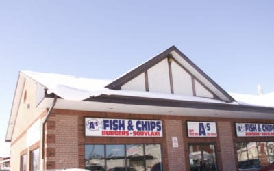 A Look Inside A's Fish & Chips